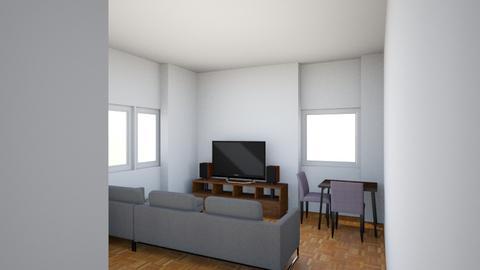 Johannes vardagsrum 2 - Minimal - Living room  - by tillbaks