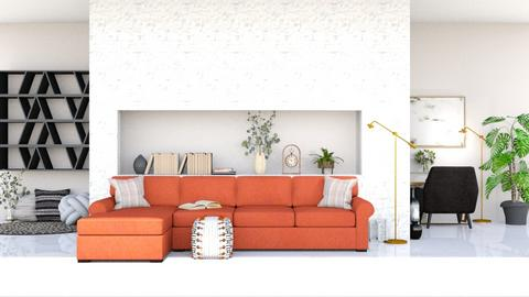 Perdamaian - Living room  - by Meghan White