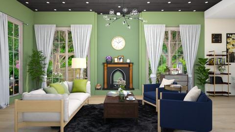 Green Living - Modern - Living room  - by M i n h  T a m