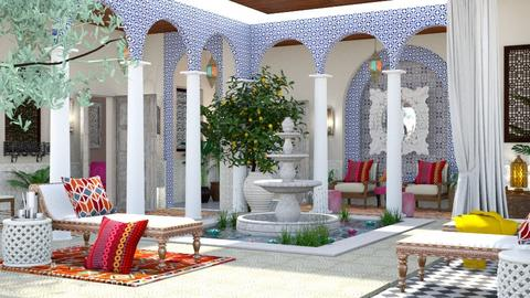 Moroccan Courtyard 4 - by jjp513