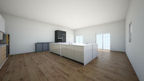 kitchen - Modern - Kitchen  - by lmjulian71