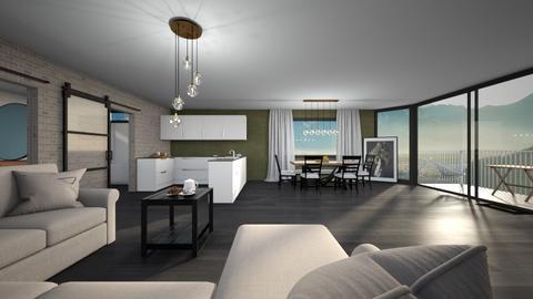 Apartment 2 - Living room  - by Noa Jones