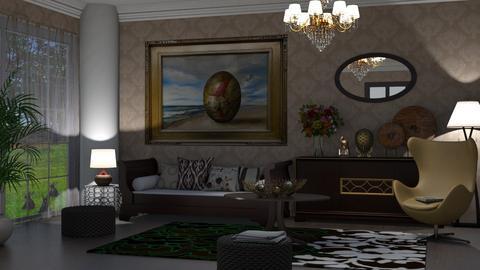 egg - Living room  - by nat mi