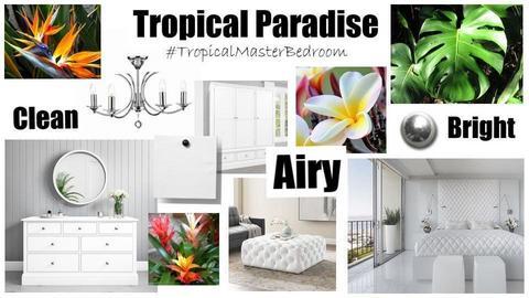 Tropical Paradise Bedroom - by khaylamae