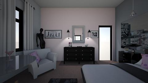 Cosmopolitan Bedroom - by Sonya Nichols