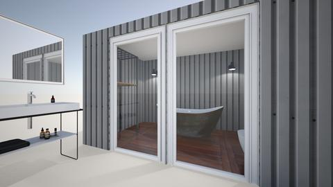 yard Bathroom - Modern - Bathroom  - by leilamyee