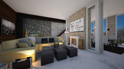 Modern Living Room - by Nameit