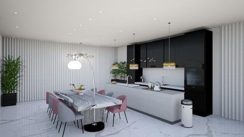kitchen moon - Kitchen  - by Netanel radai