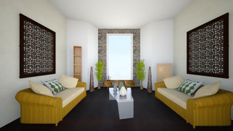 Zen - Living room - by Juliana Soaresvi