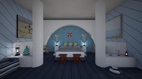 The Blue Room - Modern - Bedroom - by Irishrose58