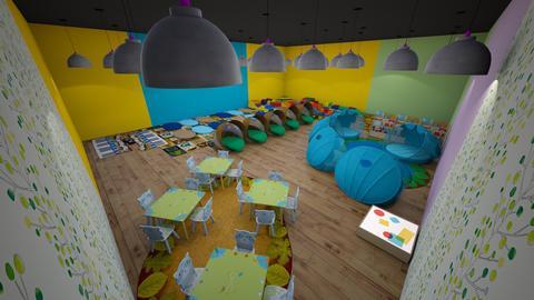 kid playroom - by cinderella1111