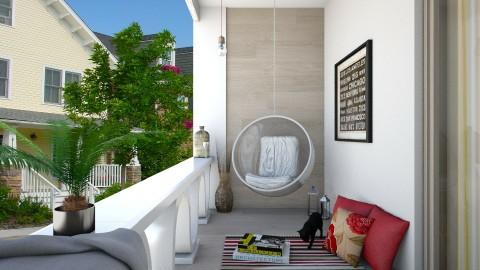 Small Balcony - Modern - by DeborahArmelin