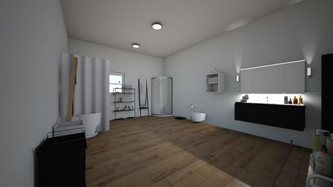 shower and stay clean  - Bathroom  - by amariwise