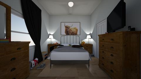 Room - Country - Bedroom  - by jade1111