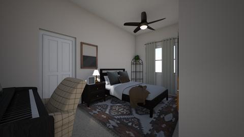 B - Minimal - Bedroom  - by BFRITSCH101