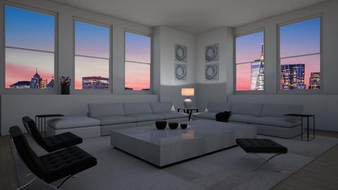 Kim y Kanye - Modern - Living room  - by Elenny