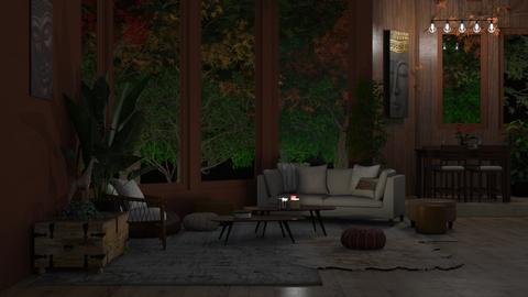 boho livingroom - Living room  - by 04renske