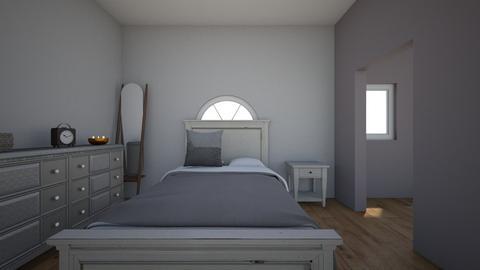 CAD bedroom project - Modern - Bedroom  - by Sophia122404