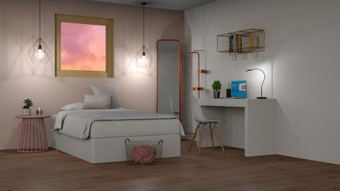 pink - Bedroom - by ngungu