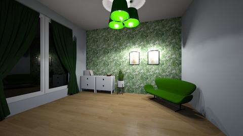 Green room - Living room  - by MeraEraLu