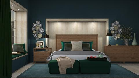 Chantelle Bedroom - Minimal - Bedroom  - by Claudia Correia