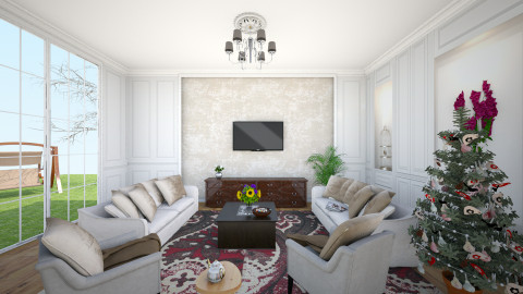 living room - Eclectic - Living room - by chenlei