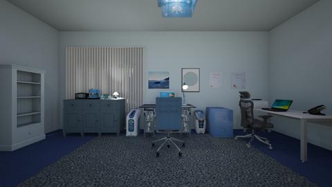 Blue Office 02 - Office  - by mspence03