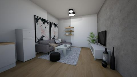 1122 - Modern - Living room  - by loryen