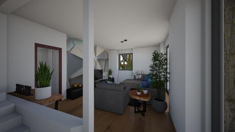 senza muretto - Living room  - by laura suino
