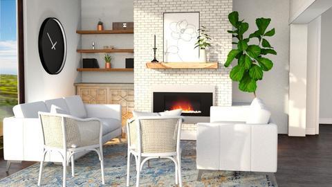asha - Living room  - by C O Z Z A B