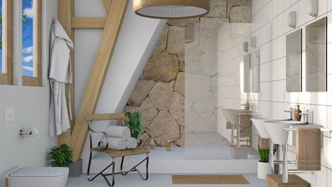 Alba bathroom - Bathroom  - by Charipis home