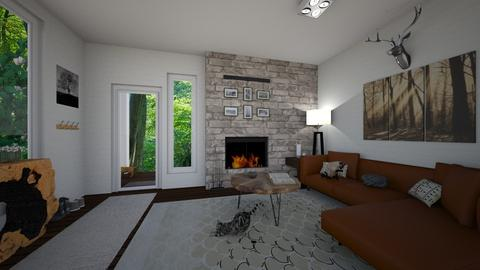 north west coast - Rustic - Living room  - by kat1016