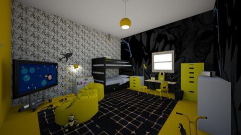 Batman theme kids room - Kids room - by remani22