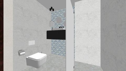 Projekt sypialni - Minimal - Bedroom  - by Karolina811