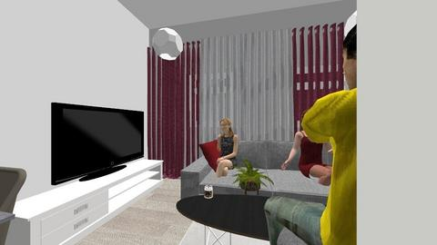 guest room  - Modern - Living room - by fuad haddad