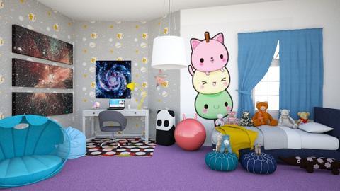 Kawaii Contest_2 - Bedroom  - by Chrispow0105