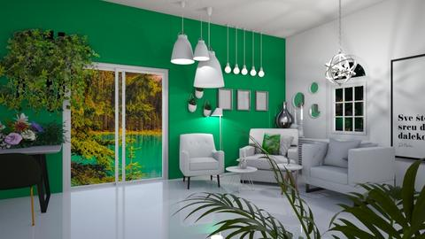 Emerald Living WIP - Living room  - by rubbaduk_