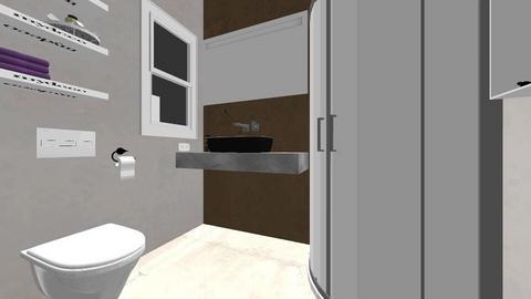 small bathroom_lot58 - Bathroom  - by angelarogoveanu2018