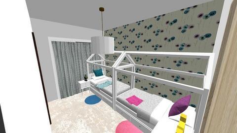 detska spalna 2 - Kids room  - by kaluka