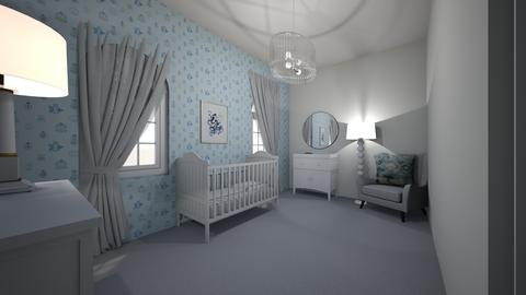 baby room - by larnie
