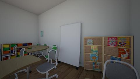 classroom - by emesematus