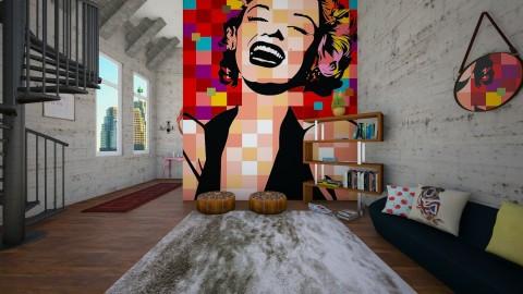 Pop Art - Modern - by DeborahArmelin