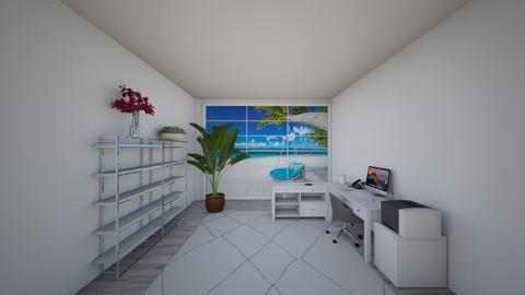 Summer House To Tanem - Office  - by cagla_deniz_