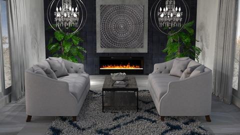 M_ Chandelier - Living room  - by milyca8