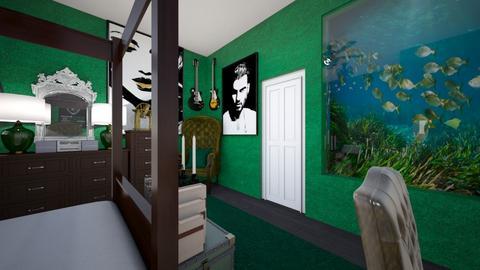Slytherin Teen 3 - Bedroom  - by SammyJPili