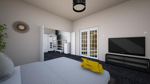 modern house 4 - Modern - Bedroom  - by chaimaejamali