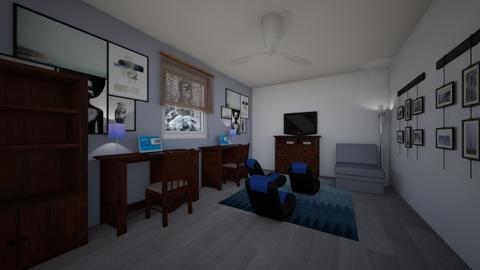 Game Den - Office  - by Daisy de Arias