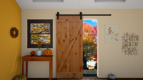 Autumn Door - by JoJo Y