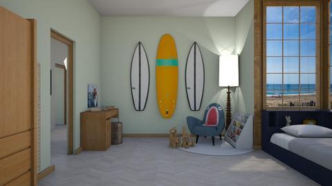 boyroom - Kids room  - by rosej