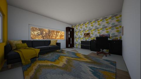 Yellow Workroom - Office  - by E21